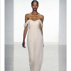Chiffon Bridesmaid Dress from Amsale Bridesmaids.